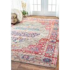 rugs 9 x 12 unique nuloom vintage fl medallion multi rug 9 x 12 pictures