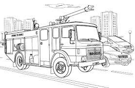 Camion De Pompier 59 Transport Coloriages Imprimer