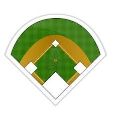 Baseball Field Diagram Fillable Baseball Diamond Baseball Field Clip Art Wikiclipart