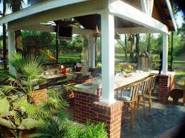... Innovative Tropical Outdoor Kitchen Designs Cool Kitchen Design Ideas  On A Budget With Tropical Outdoor Kitchen ...