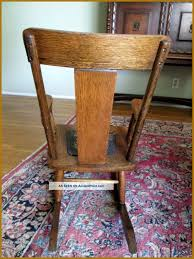 best antique childs rocking chair fresh wooden for inspiration and identification styles