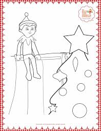 Elf On The Shelf Coloring Page Elf On The Shelf Coloring Pages The