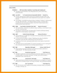 Self Employment Resume Sample Best Self Employed Resume Self