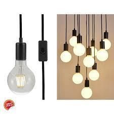 Vintage Plug In Lights Hanging Lamp Plug In Pendant Light Antique Vintage Metal Swag Bulb Holder Decor