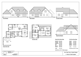 4 Bedroom Chalet Bungalow Design Friends Clump 4 Bedroom Chalet Design House Plans Uk