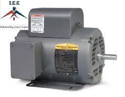 ajax 7 5 hp 1 phase 230 volt air compressor electric motor l1410t 5 hp 1725 rpm new baldor air compressor electric motor