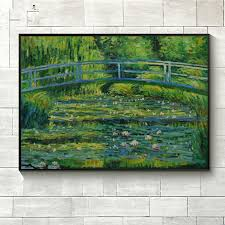 the world famous paintings monet lotus100 hand painted flower paintings abstract pictures for living room decoration picture in painting calligraphy from