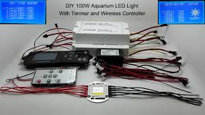 led lighting diy. 100w Lumia 5.1 Diy Aquarium Led Light Sunrise Sunset Dimmable 100W Remote Auto Dim Coral Reef Lighting-in LED Grow Lights From Lighting A