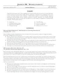 Internal Resume Template Resume Template Directory