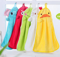 towel for kids. Catoon Microfiber Hand Towel Velvet Fabric Baby Kids Towels Small Toalla Redonda Toalhas De Banho Kitchen Adult Towel-in From Home \u0026 Garden For W
