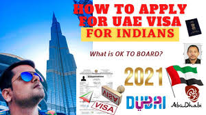 UAE Tourist Visa 2021 | How To Apply & Documents | What Is Ok To Board For  Indians. - YouTube