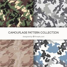Camo Patterns Awesome Camo Patterns Vectors Vector Free Download