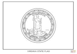 Small Picture Virginia State Flag coloring page Free Printable Coloring Pages