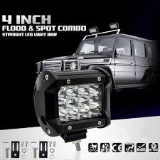 4/5/<b>7 Inch 12V</b> Car LED Work Light Spot Lamp <b>6000K</b> 36W 60W ...