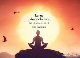 Lerne Ruhig Zu Bleiben Nicht Alles Verdient Eine Reaktion