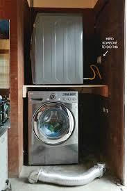 moving washer and dryer. Garage Laundry Nook With New Gas Line Moving Washer And Dryer S