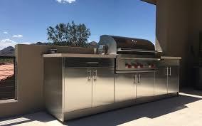 Outdoor Kitchen Cabinets In Scottsdale Arizona SteelKitchen Simple Kitchen Cabinets Scottsdale