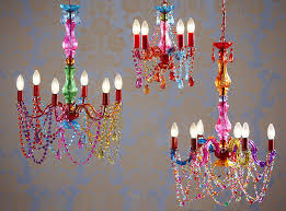 fascinating coloured chandeliers as your personal home equipments