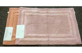 deluxe cotton bath rug 8 colors available