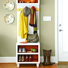 shoe and coat rack coat hanger and shoe rack narrow coat rack bench with shoe storage