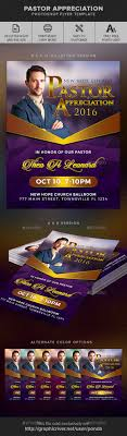 pastor appreciation flyer template by ponda graphicriver pastor appreciation flyer template church flyers