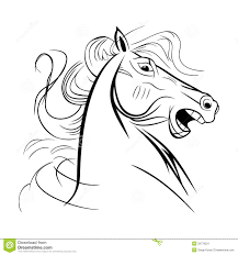 Cartoon Comic Horse Coloring Page Explore Pages Wild Horses And More