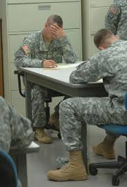 best warrior competition day written exam and graded essay   staff sgt mark dornbusch representing the u s national guard concentrates on the