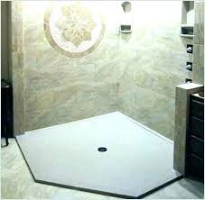 basement bathroom with stand up shower base installing s showers at door source living bathrooms good