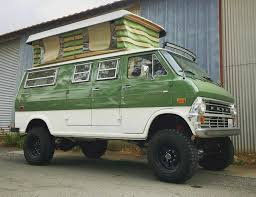 The 808Van – 1971 Ford E300 4×4 Sportsmobile – Blue Oval Trucks