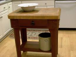 Fine Small Kitchen Island Butcher Block Of Portable Designs On Concept Design