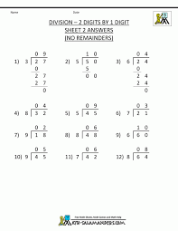Printable Division Worksheets 3rd Grade Free Math Work Sheets ...