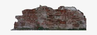 brick wall damaged texture transpa