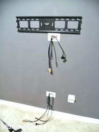 brick wall hide wires wall mount tv over how