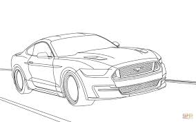 Small Picture Ford Mustang 2015 coloring page Free Printable Coloring Pages