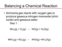 balanced equation for ammonia jennarocca balanced equation for ammonia jennarocca balanced equation of ammonium nitrate to nitrogen monoxide and
