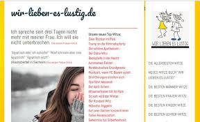Neues Witze Portal Wir Lieben Es Lustigde Wir Lieben Es Lustigs