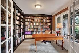 bookshelves for office. traditional home office with flush light crown molding builtin bookshelf custom bookshelves for f