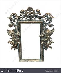 angel frame royalty free stock picture