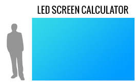 Led Screen Size Chart Led Screen Calculator Absen