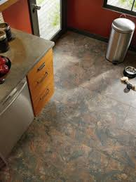 Kitchen Floor Stone Tiles Kitchen Sheet Vinyl Kitchen Flooring With Rhino Champion Argento