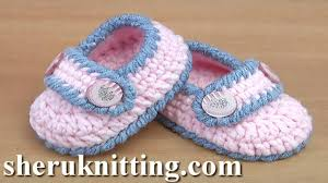 Crochet Baby Shoes Pattern New Easy To Crochet Baby Booties Tutorial 48 YouTube