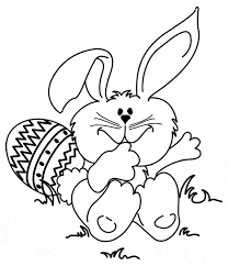 Easter Bunny Coloring Pages Getcoloringpagescom
