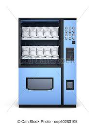 Vending Machine Background Delectable Blue Vending Machines On White Background 48d Rendering