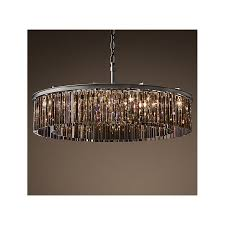 living nice crystal prisms for chandeliers 5 rh rhys clear glass prism round chandelier swarovski crystal