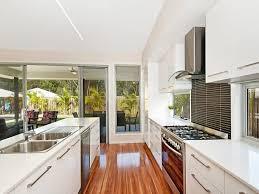 the galley kitchen design for luxury kitchen ideas
