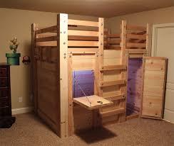 cool bunk bed fort. Kids Loft Bed Plans \u2013 The Fort Cool Bunk
