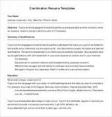 Get 15 Combination Resume Template You Need To Know Top Template