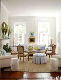 ... Home Decor Ideas Living Room Simple Neutral Color Decorate Item Stained  Wall And Wooden Furniture Rattan ...