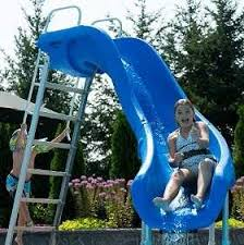 Image Small Rogue2 Pool Slide By Sr Smith Pool Design Ideas All Swimming Pool Slides For Inground And Above Ground Pools