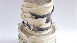 Rustic Fondant Ruffle Cake Tutorial Rosies Dessert Spot Youtube